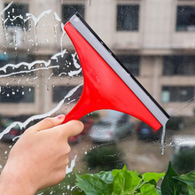 1PC Home Car Glass Window Wiper Cleaner Auto Windshield Wash Bar Table Surface Cleaning Water Dry Handy Brush Color random(China)
