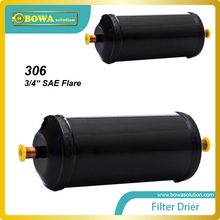 "EC-306 Cheap and quality 3/4"" SAE Flare  liquid line Cooling Filter Dryers Absorbing moisture, preventing acids"
