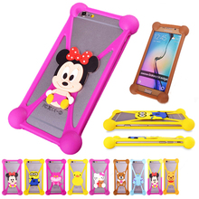 3D Cartoon Rubber Cell Phones Cases For Pantech Vega R3 IM-A850L Phone Case Winnie Pooh Silicone Anti-knock Protector Cover