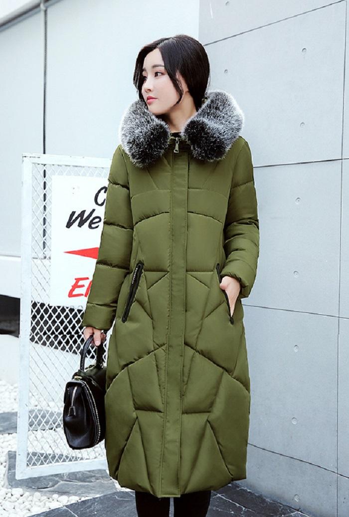 2017 Winter Women Coat Thicken Warm Long Jacket women coat girls long slim big coat jacket Down Parka+22 (2)