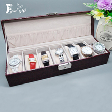 Fashion watch jewelry storage box with lock security organizer Storage Casket Men are available for Travel Case Best Gift(China)