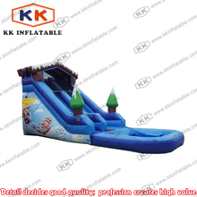 ski slope giant inflatable snow slide for cheap sale pond slide price(China)