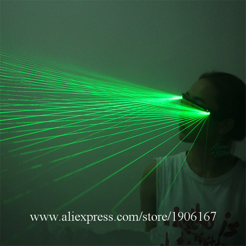 Newest Red Green Blue Laser Show Glasses Party Laserman Glasses For Night Club KTV Bar Stage Show10