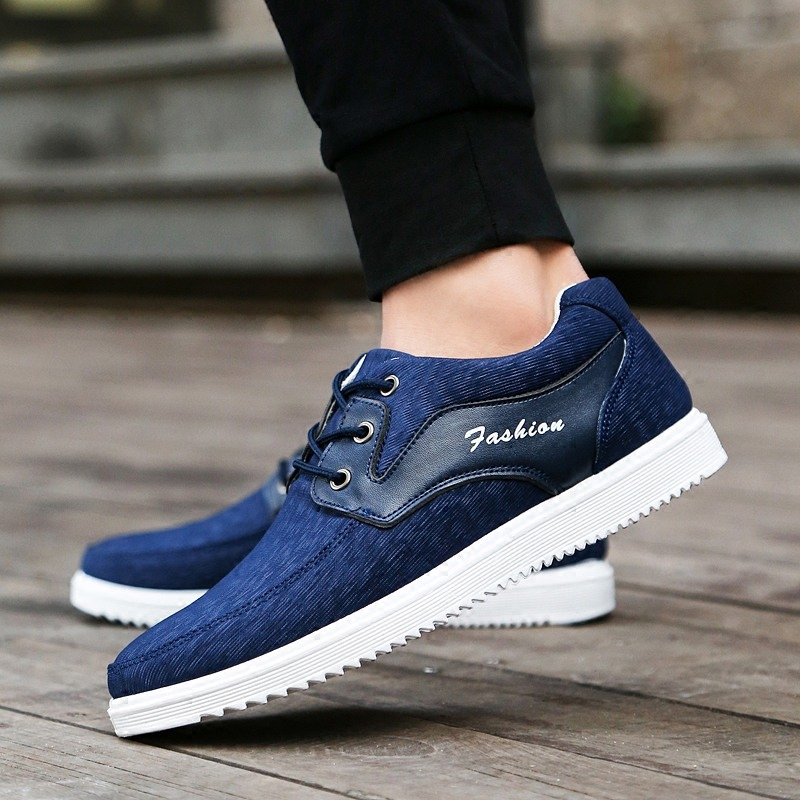 2017 Spring Summer Comfortable Sport Men Walking lightweight Shoes Mens Casual Fashion Patchwork Flat Canvas Loafers Shoes<br><br>Aliexpress
