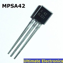 50pcs/lot MPSA42 TO-92 0.5A / 300V NPN Transistor(China)