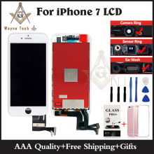 Tianma Quality Pantalla For iPhone 7 LCD Screen With Goos 3D Touch Digitizer Display Assembly Free Shipping DHL(China)