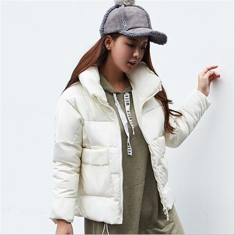 2017 New Winter Women Jacket Coat Fashion Casual Big Yards Parka Down Cotton Jacket Loose Coats Warm Padded Bread Clothes A1870Одежда и ак�е��уары<br><br><br>Aliexpress