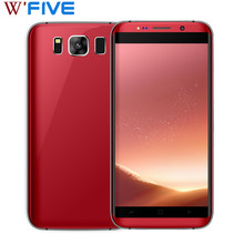 "SERVO S8 edge Smartphone 5.5"" 3D Curved Glass Cellphone MTK6580 Quad Core Android 6.0 RAM 1GB ROM 8GB GPS 8MP WCDMA Mobile Phone(China)"