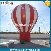 4m Advertising inflatable cold air balloon with custom logo