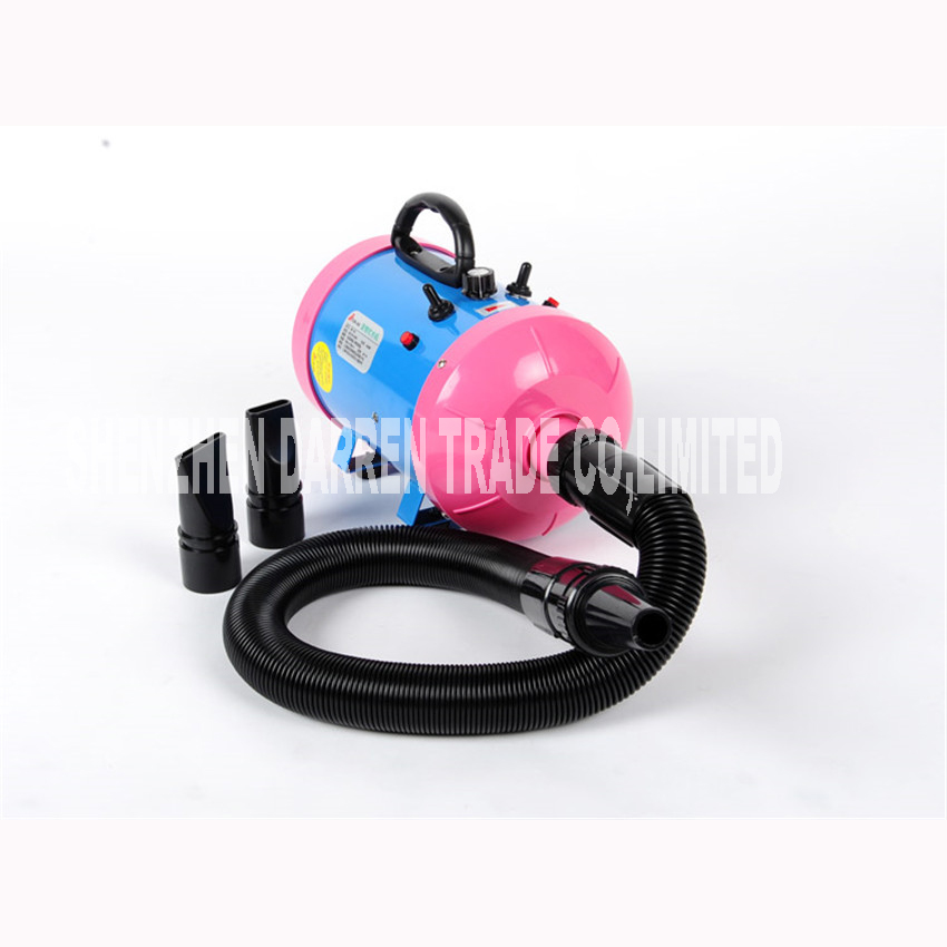 Dryer Pet Dog Professional Hair Dryer Ultra Quiet High Power Stepless Regulation of the Speed Drying Machine 2400 w<br><br>Aliexpress