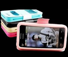 Doogee DG280 Case, Flip PU Leather Soft Silica gel Back Cover Phone Cases for Doogee Leo DG280 Wholesale + Retail(China)