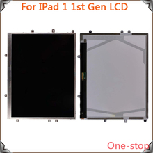 2015 New Special 100% Original For Apple iPad 1 1st Gen Lcd Screen Display Replacement,Free Shipping!!(Black)