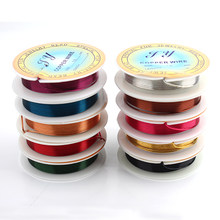 Popular wire gauge thickness buy cheap wire gauge thickness lots wholesale 10pcslot jewelry copper wire solid 10 color mixed wrapping beading 18 gauge total 20m diy craft wire thickness 10mm greentooth Choice Image