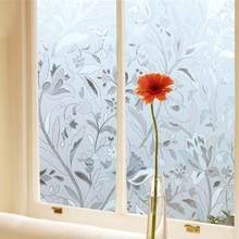 diy window privacy window covering 45100cm uv staticproof selfadhesion glass sticker cling frosted stained flower window film bedroom bath privacy home diy decor popular diy privacybuy cheap lots from