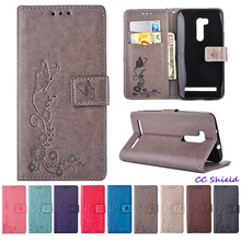 Dielianhua Leather Cover for ASUS Zenfone Go TV ZB551KL ZB 551KL Wallet card slot phone case for ASUS X013D ASUS_X013D XO13D bag(China)