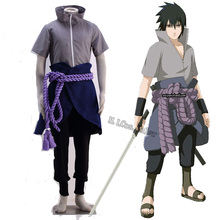 Customized New Cosplay Costume for Naruto Uchiha Sasuke Cosplay Accessories