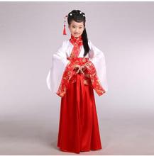 classical chinese dance costumes national costume china dance costumes children traditional ancient chinese clothing kids girl(China)