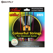 Alice A107C Colorful Classical Guitar Strings Colorful Nylon Colorful Coated Copper Alloy Wound