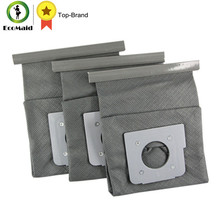 Washable DustBag for LG Vacuum Cleaner V-743RH V-2800RH Cleaning Spare Part for Vacuum Bag Replac Reusable Dustbag 3pcs
