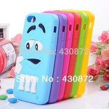 NEW For iphone 5C cases M&M's chocolate candy rubber silicone cartoon cell phone case covers for iphone5c free shipping
