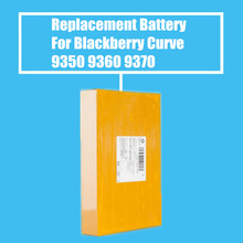 10Pcs/Pack 1000mah Replacement Battery For Blackberry Curve 9350 9360 9370 High Quality(China)