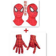 Free shipping!! Hot Cosplay children and adult Spiderman mask /Spider-Man Gloves Cosplay Halloween Full Head Mask Party Supplies