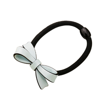 Chaplet 2016 New High Quality Popular Hair Accessories Simple Children's Bow Elastic Hair Band Girls Rubber Band Free Shipping