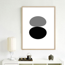 Canvas Print Painting Abstract irregular Geometric shape Nordic Style Picture Wall Art Poster For Home Decor Unframed LZ894