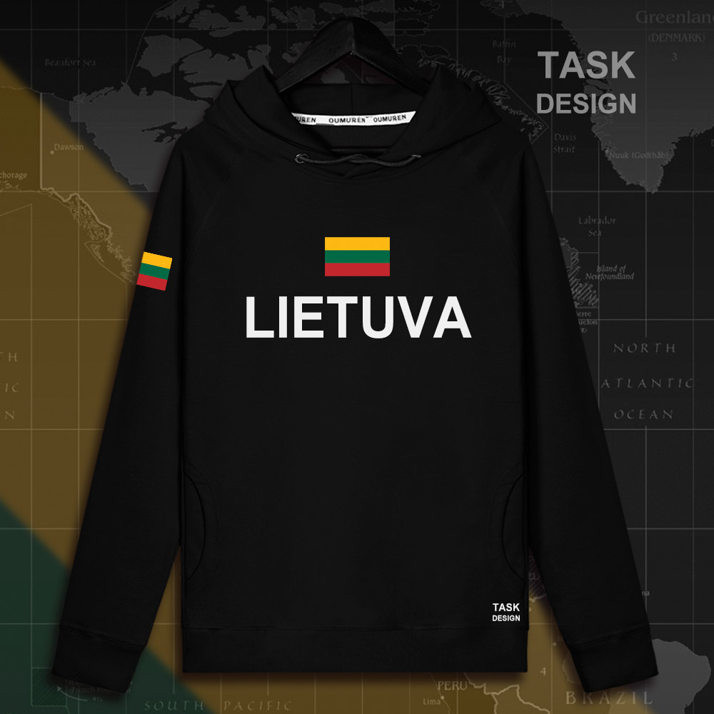 Lithuania Lithuanian LTU Lietuva Lietuvos men hoodie pullovers hoodies men sweatshirt new streetwear clothing Sportswear tracks 11