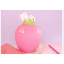 3 colors Round Strawberry Tissue Box High Quality Plastic Toilet Paper Holder Large Cartons Towel Rack Broader Tissue Box