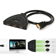 HD 1080P HDMI 3 PORT HDMI Switcher 3-in-1 HDMI Switcher Splitter Cable adaptador HDMI HDCP Hub for PS3 DVD XBOX 360 HD TV PC