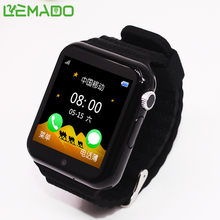 Lemado V7K Children Security Anti Lost GPS LBS APGS Tracker smart watch 1.54''Display with camera SOS call anti lost Kids Watch