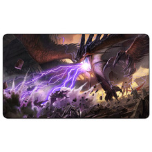 Dragons of Tarkir Trai 60x35cm custom design Playmat Trailer Play mat for Magical Board Game table mat pad(China)