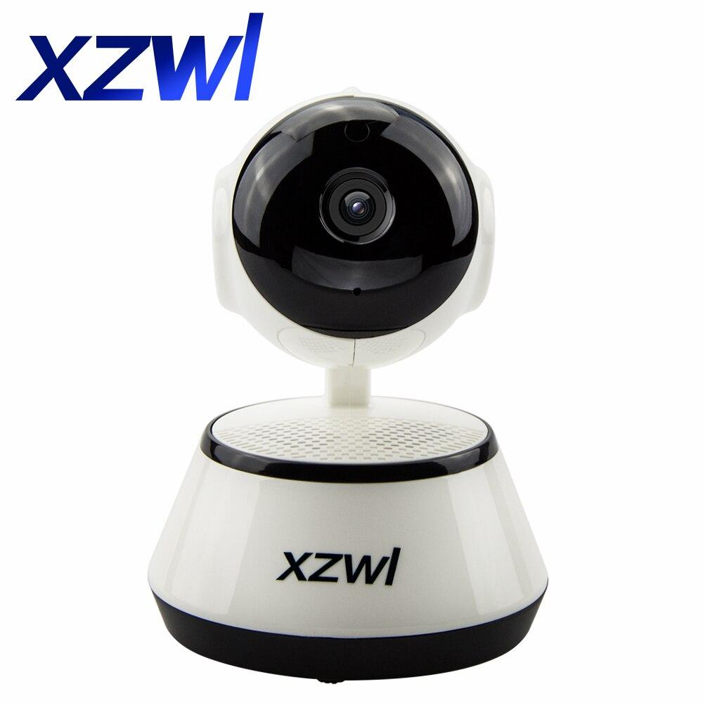WiFi Wireless HD IP Camera Pan Tilt IR Night Vision 2 Way Audio Motion Detective Surveillance CCTV Camera Indoor Home Security<br>