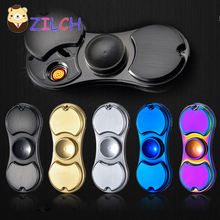 2017 Hot New Arrival Cigarette Lighter Multifunction Outdoor EDC Tool Hand Spinner Anti Reduce Stress Fidget Toy Boring Annoying