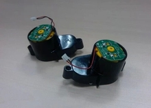 (For X500) Side Brush Motors Assembly for Vacuum Cleaning Robot, Including Left Motor Assembly x1pc+ Right Motor Assembly x1pc