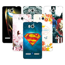 Fashion Attractive Case For Huawei Honor 2 U9508 Super Iron Man Painted Back Protector For Huawei U9508 U8950D Ascend G600 Case