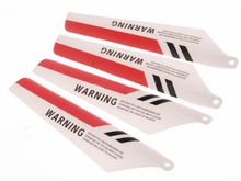Syma S107 Main Blade A+B RC Helicopter Red for Syma s107 s107g syma s107 Parts Free Shipping with Tracking(China)