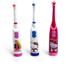 Cartoon Electric Toothbrush Cute Children Electric Massage Ultrasonic Toothbrush Teeth Care Oral Hygiene For Kids as a gift