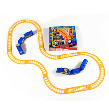 Hot 1 Set Kids Baby Interesting Electric Anime Machines Railway Trains Model Vehicles Toys Gifts for Children Boy Party Gifts