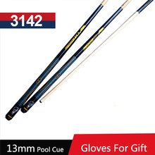 2016 High Quality Billiard Pool Cue 13mm Tips 1/2 Split Pool Cues Stick China BK2/BKS Type(China)
