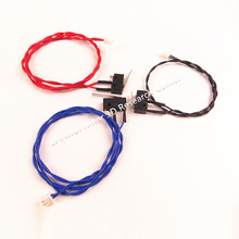 UM2 3D printer Ultimaker 2 Extended Limit Switch Kit Red Blue Black Limited Switch Endstop Micro Switch Connector