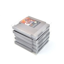 Buy 10PCS/LOT Protection Case NES Game Card Cartridge Case Cart Protector NES Card Sleeve Clear Box Game Accessories for $10.38 in AliExpress store