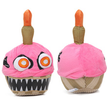 New Pink Five Nights at Freddy's Series 2 Nightmare Cupcake 7.9Inch FNAF Plush Toys juguetes de peluche bebe(China)