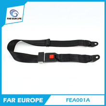 E-mark Certificate Car 2 Point Safety Seat Belt Manufacturer School Bus Safety Belt FEA001A(China)
