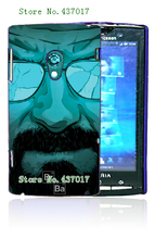 Mobile Phone Case Hot 1pc Skull Panada Breaking Bad Hybrid Design Protective White Hard Case For Sony Xperia X10(China)