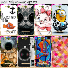 Soft TPU Mobile Phone Covers For Micromax Q392 Canvas Power 2 Canvas Juice 3 Cases Cover With a Camera Cell Phone Bags Housings