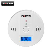 Fuers Home Security Alarm LCD Photoelectric Independent CO Gas Sensor Carbon Monoxide Poisoning Alarm Wireless Device Detector(China)