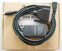 Industrial USB-SC09 Programming Adapter Cable for Mitsubishi MELSEC FX and A Series PLC, Support Win7, SC-09 USB