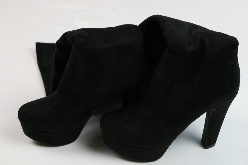 New Women's Boots, Sexy Fashion Over the Knee Boots, Sexy Thin Square Heel, Boot Platform Woman Shoes 16